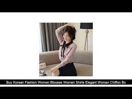 Buy <b>Korean Fashion Women</b> Blouses <b>Women</b> Shirts Elegant ...