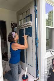 how to paint your front doorHow To Paint A Door The Easy Way
