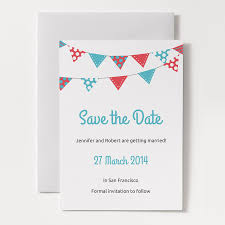 Printable Save The Date Template Bunting A Photos On Free Save The