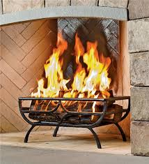 main image for cast iron log basket grate