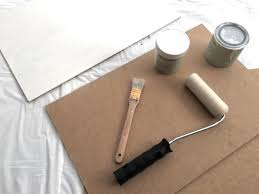 how to prepare and prime a hardboard panel for oil painting