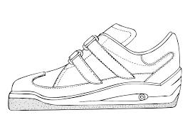 Nike Serigrafia Schoen Templates Google Kleurplaat Search Sneaker