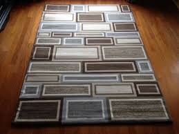 6 x 9 contemporary area rug gray brown beige high quality geometric modern in on alibaba com