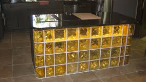 glass block furniture. Colored Glass Block Bar With Lighting Furniture Innovate Building Solutions Blog