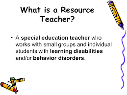 Image result for resource teacher