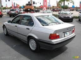 Sterling Silver Metallic 1992 BMW 3 Series 325i Sedan Exterior ...