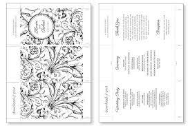Free Printable Wedding Ceremony Programs Printable Wedding Ceremony Program