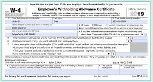 How Do Allowances Affect Withholding How To Fill Out A W 4 Form The Only Guide You Need