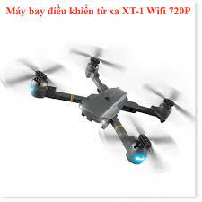Flycam quay video Full HD 720P, Máy bay điều khiển kết nối wifi 3G - 4G,  Máy bay điều khiển từ xa XT-1, Động cơ mạnh mẽ giá cạnh tranh