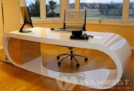 Image Regarding Customized Artifical Marbel Office Desk Wanbest Popular Corian Office Desk Custom Design And Manufacturer