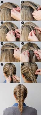How To Fishtail Braid Your Own