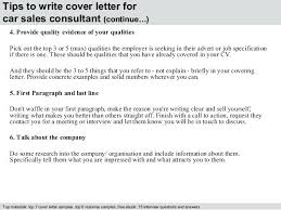 Car Sales Executive Cover Letter Facilities Manager Cover Letter
