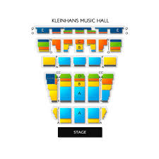 Kleinhans Seating Chart Kleinhans Music Hall 2019 Seating Chart