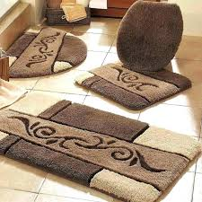 contemporary bathroom rugs modern