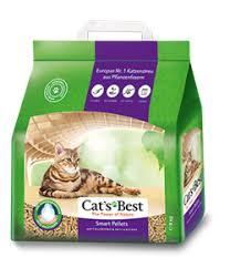 Древесный комкующийся <b>наполнитель Cat's Best Smart</b> Pellets
