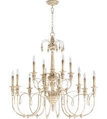 quorum 6106 12 70 nto 12 light 39 inch persian white chandelier ceiling light