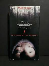 """NEW 1999 """"THE BLAIR WITCH PROJECT"""" VTG VHS HORROR, SCARY, HALLOWEEN, WITCH  Movie - $9.99 