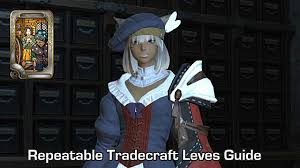 Ffxiv Xp Chart Ffxiv Leveling Crafting Tradecrafts With Repeatable Leves