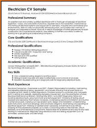 sample resume for electrical technician unforgettable apprentice