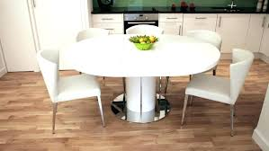 what size round table seats 8 large round glass dining table seats 8 medium size of