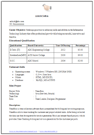 Curriculum Vitae Samples For Experienced Accountants Cv Resume