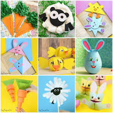 25 easter crafts for kids lots of crafty ideas