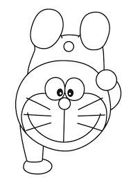 Credit to the original picture uploader. Coloring Pages Printable Doraemon Coloring Page