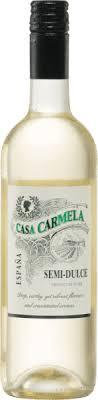 Casa Carmela Semi-Dulce Blanco DO - Bodegas Castaño   VINELLO