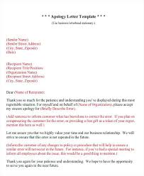 Business Apology Letter For Mistake Best Best Ideas Of Business Formal Apology Letter Sample Creative To Boss