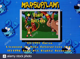 Marsupilami - Sega Genesis Mega Drive - Editorial use only Stock Photo -  Alamy