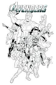 Free Avengers Coloring Pages Marvel Color Pages Marvel Color Pages