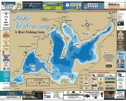 Lake Nosbonsing Ontario Lake Maps