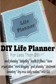 Planner 5 Diy Life Planner For Less Than 5 The Busy Budgeter