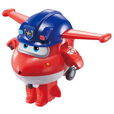 "<b>Мини</b>-<b>трансформер Super Wings</b> ""Джетт"", команда Полиции"