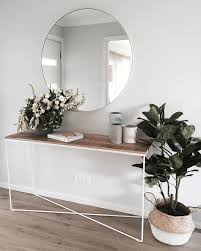 Big OMG to using the round mirror above the console, creating the PERFECT  entryway to the home. Your an absolute clever girl and beautiful stylist.