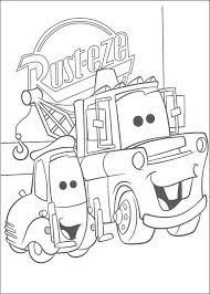 Guido Cars Coloring Pages