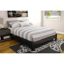 high platform beds with storage. Twin Platform Bed Wood Frame With Nightstands Attached High Beds Storage