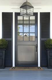 glass storm doors storm door front door