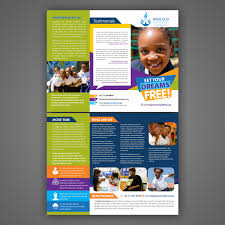 Best Design School In South Africa School Flyer Design For Kgololo Academy By Mariyam Design