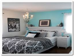 black and white and blue bedrooms photo - 4