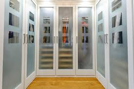 refreshing closet glass doors distressed closet doors closet traditional with modern hardware