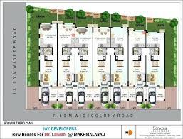 plans row house plans designs ground floor plan first dazzling design modern home inspiration a