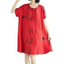 Buy MHC~KJ Trend Dress, <b>Womens Retro Ethnic Style</b> Loose ...