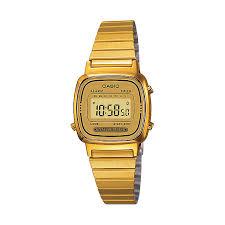 casio watches edifice g shock solar digital h samuel casio ladies mini yellow gold plated digital watch product number 2401053