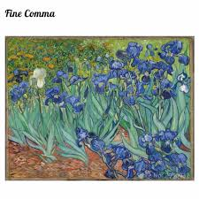 irises les iris 1889 by vincent van gogh hand painted oil painting reion replica wall art