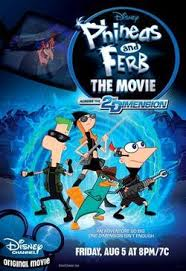 phineas and ferb across the 2nd dimension poster jpg