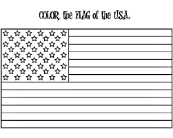 Small Picture American Flag Coloring Page w FREE Extension Activities
