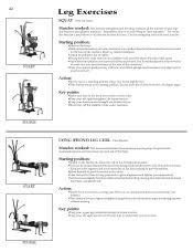 Bowflex Motivator Exercise Chart Bowflex Motivator Leg Attachment