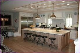 Popular Kitchen Islands With Ideas And Stunning Large Seating Storage