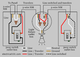 3 way lighting diagram explore schematic wiring diagram \u2022 3 way switch wiring diagram multiple lights pdf 3 way switch wiring electrical 101 rh electrical101 com 3 way light diagram 3 way lighting circuit wiring diagram